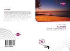 Bookcover of Kulovesi