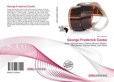 Bookcover of George Frederick Cooke