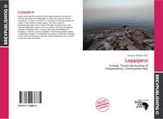 Bookcover of Loppijärvi