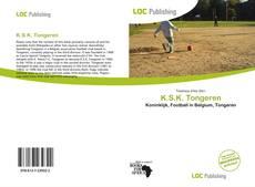 Buchcover von K.S.K. Tongeren