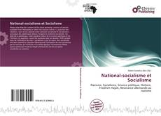 Capa do livro de National-socialisme et Socialisme