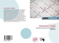 Bookcover of Econometric Model