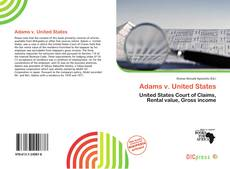 Capa do livro de Adams v. United States