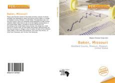 Bookcover of Baker, Missouri