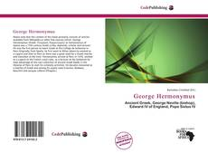 Couverture de George Hermonymus