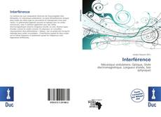 Bookcover of Interférence