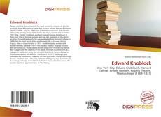 Bookcover of Edward Knoblock