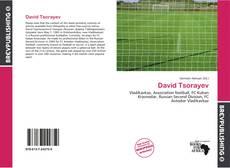 David Tsorayev kitap kapağı