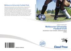 Melbourne University Football Club kitap kapağı