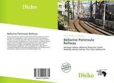 Capa do livro de Bellarine Peninsula Railway