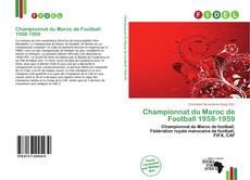Championnat du Maroc de Football 1958-1959 kitap kapağı