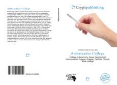 Bookcover of Ambassador College