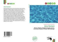 Portada del libro de Ama Sumani