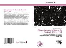 Обложка Championnat du Maroc de Football 1963-1964