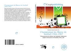 Bookcover of Championnat du Maroc de football 1966-1967