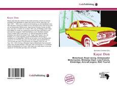 Kaye Don kitap kapağı