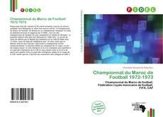 Bookcover of Championnat du Maroc de Football 1972-1973