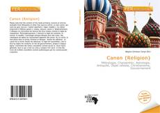 Canon (Religion)的封面