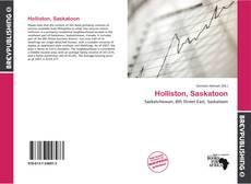 Holliston, Saskatoon的封面
