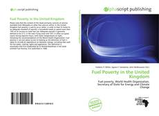 Bookcover of Fuel Poverty in the United Kingdom