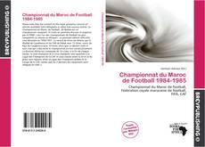 Обложка Championnat du Maroc de Football 1984-1985