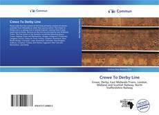 Portada del libro de Crewe To Derby Line