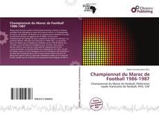 Bookcover of Championnat du Maroc de Football 1986-1987