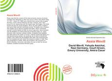 Bookcover of Assia Wevill