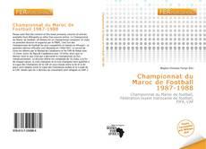 Bookcover of Championnat du Maroc de Football 1987-1988