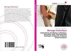 Borítókép a  Mariage Catholique - hoz