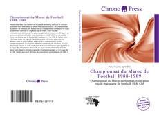 Championnat du Maroc de Football 1988-1989 kitap kapağı