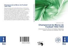 Bookcover of Championnat du Maroc de Football 1992-1993