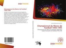 Championnat du Maroc de Football 1994-1995 kitap kapağı