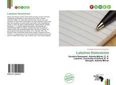 Portada del libro de Lakshmi Holmström