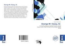 Capa do livro de George W. Casey, Sr.