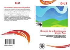 Couverture de Histoire de la Belgique au Moyen Âge