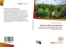 Bookcover of Histoire du Luxembourg
