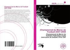 Bookcover of Championnat du Maroc de Football 2007-2008