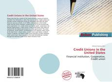 Bookcover of Credit Unions in the United States
