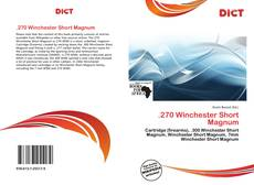 Buchcover von .270 Winchester Short Magnum