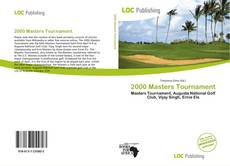 Обложка 2000 Masters Tournament