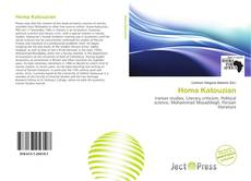 Bookcover of Homa Katouzian