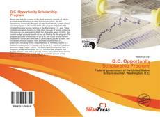 Bookcover of D.C. Opportunity Scholarship Program