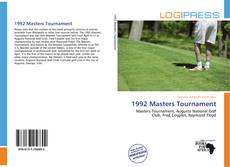 1992 Masters Tournament kitap kapağı