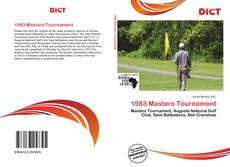 Обложка 1983 Masters Tournament