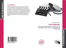 Borítókép a  Joan Maude - hoz