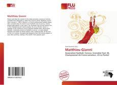 Обложка Matthieu Gianni