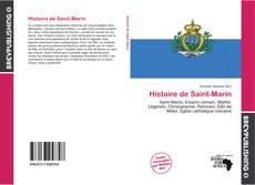 Histoire de Saint-Marin kitap kapağı