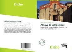 Abbaye de Sablonceaux kitap kapağı