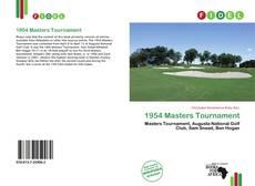 Portada del libro de 1954 Masters Tournament